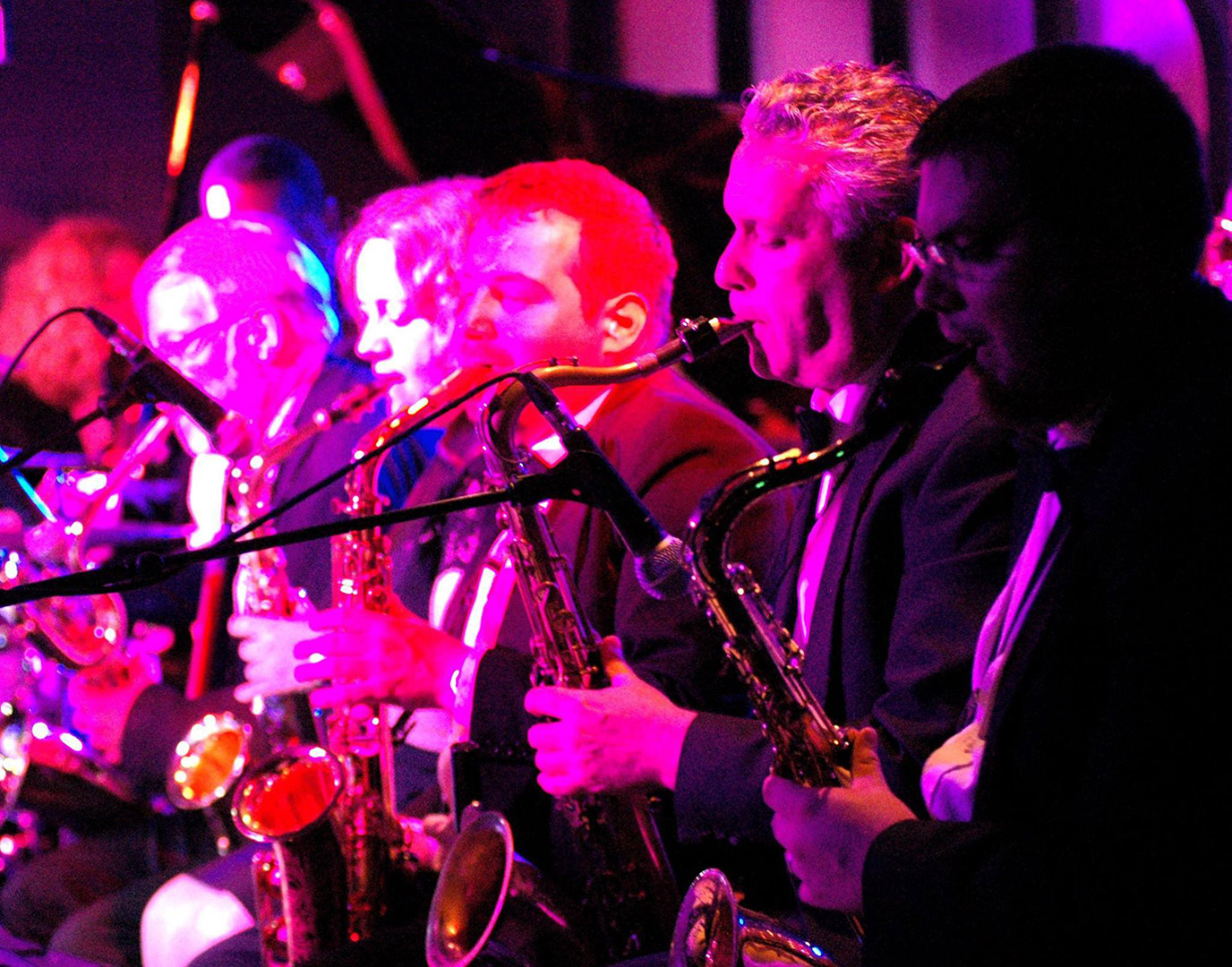 Vince Dunn Orchestra Horn Section