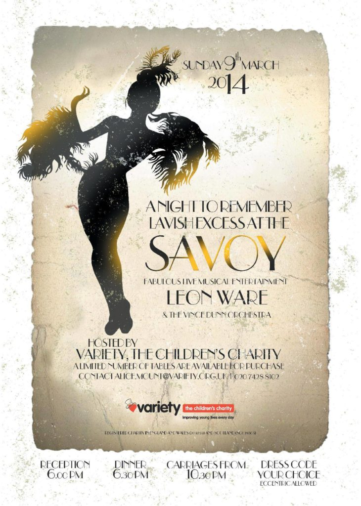 A NIGHT OF LAVISH EXCESS AT THE SAVOY