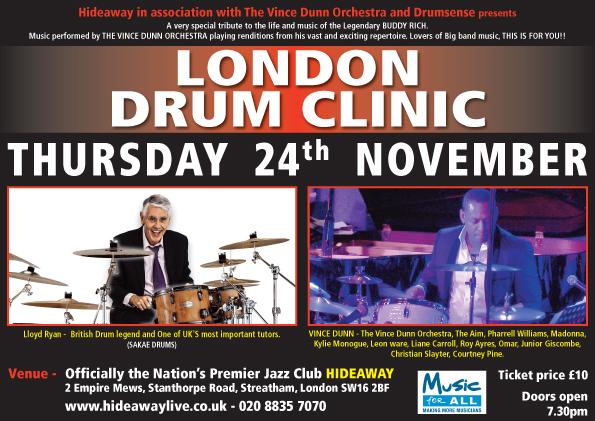 London Drum Clinic 24th November