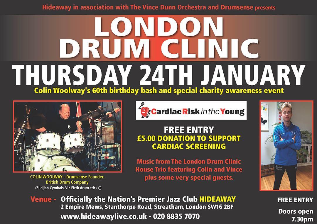 London Drum Clinic - Vince Dunn